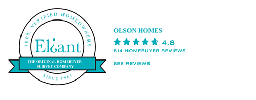 Eliant review badge for Olson, 4.8 stars